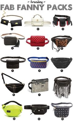 GOLD COAST GIRL a chicago-based fashion lifestyle guide Fannypack Outfits chicagobased Coast fashion Girl Gold Guide lifestyle Waist Purse, Bum Bag, Fashion Bags, Style Fashion, Fashion Outfits, Leather Projects, Pouch Bag, Cloth Bags, Handbag Accessories
