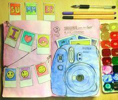 Фотографии Wreck This Journal Art Journal Pages, Drawing Journal, My Journal, Drawing Art, Kunstjournal Inspiration, Bullet Journal Inspiration, Round Robin, Create This Book, Creative Journal