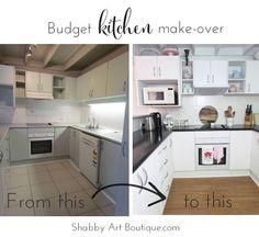 DIY Budget Kitchen Make-over