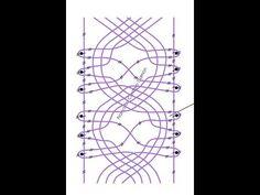 057 Encaje de Hinojosa - Punto Lleruza de la Cruz - Recto Needle Lace, Bobbin Lace, Lacemaking, Lace Heart, Lace Jewelry, Lace Patterns, Lace Detail, Tatting, Diy And Crafts