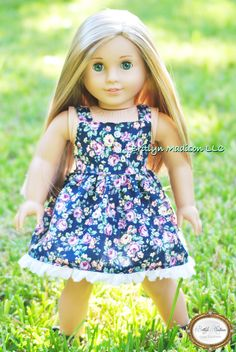 Custom Marie Grace doll~ Available on Custom American Girl Dolls, Custom Dolls, Doll Wigs, Premium Brands, 18 Inch Doll, Claire, Doll Clothes, Houses, Summer Dresses