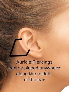 KarmaSe7en.com - Auricle Ear Piercing