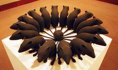 The Rat King: On the Fascinations (and Revulsions) of Rattus Mixed Media Sculpture, Art Sculpture, Sculptures, Artist Art, Artist At Work, Rat King, Modern Art, Contemporary, Art Studies