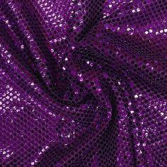 "1 Yard of Purple Sequin Fabric 45"" Wide   eBay"