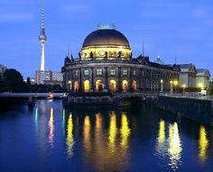Berlin Museumsinsel (museum island) 6 museums on an island. Nefertiti Bust, Pergamon Museum, Museum Island, Berlin City, Berlin Berlin, Cultural Capital, New Museum, Win A Trip, Marriott Hotels
