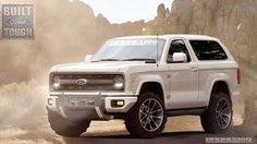 Ford Bronco use Jeep Wrangler platform http://digestcars.com/ford-bronco-platform/ #cars #automotive #ford #fordbronco #topcar #suv #crossover #bronco #fordcar