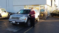 KIMBERLY's new 2016 Jeep Patriot! Congratulations and best wishes from Kunes Country Auto Group of Sterling and Matthew Ricciotti.