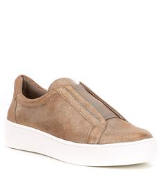 1c43b665a0ad Donald J Pliner Charley Metallic Leather Slip-On Sneakers