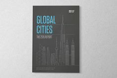 Knight Frank - Global Cities Report. The key focus throughout the project concentrated on creating an authoritative, seminal report on the global commercial property market; enhanced with localised and humanised editorial features within the publication. The ongoing story of commercial property in global cities was reinforced through compelling data visualisation, engaging analysis and a cohesive family of photography.