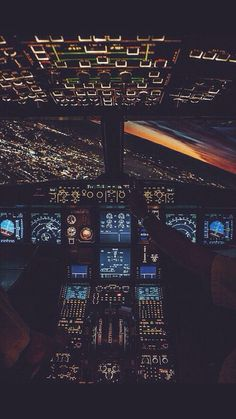 Airplane Cockpit iPhone Wallpaper - iPhone Wallpapers
