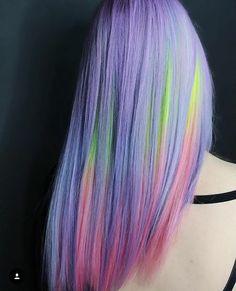 24 wonderful cotton candy hair ideas hair hair, dyed hair и Hair Color Pink, Hair Dye Colors, Cool Hair Color, Purple Hair, Violet Pastel, Pastel Hair, Pastel Rainbow Hair, Cabello Underlights, Pelo Multicolor