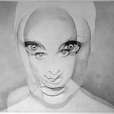 This pencil drawing is so cool!!!