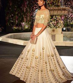 Manish Malhotra bride # modern look #