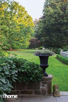 Garden Design Inspiration | Fairfield County, CT | athomefc.com
