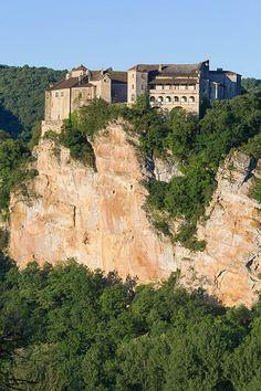 Bruniquel, département de Tarn-et-Garonne en région Midi-Pyrénées