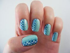 Art Evolve: Side Pattern Mani