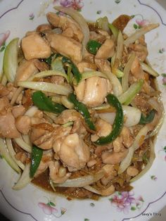 Welcome to Tevy's Kitchen: Stir Fry Chicken with Ginger