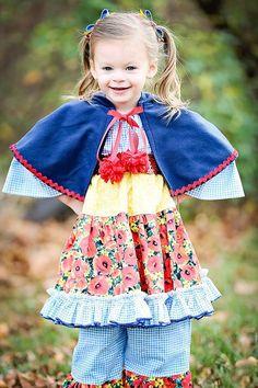 Gingham Dress for Little Girls, Toddler Girls Dress, Girls Peasant Dress, Long Sleeve Dress for Girls, Sizes 18 mos - 7 years, Girls Dresses