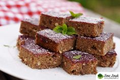 Cuketový perník (bez lepku) Vegan, Fit, Desserts, Tailgate Desserts, Deserts, Shape, Postres, Dessert, Vegans