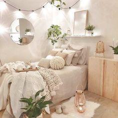 Cute Bedroom Ideas, Room Ideas Bedroom, Teen Room Decor, Small Room Bedroom, Bedroom Inspo, Hippy Bedroom, Study Room Decor, Boho Teen Bedroom, Costal Bedroom