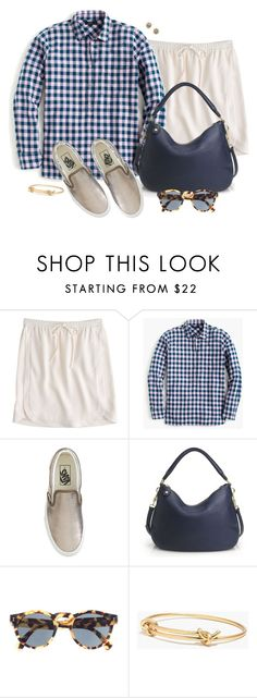 """Gingham"" by villasba ❤ liked on Polyvore featuring J.Crew and Madewell"