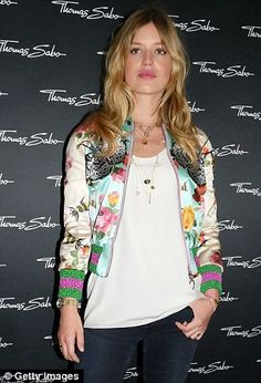 Look the bomb in Georgia's Gucci jacket #DailyMail
