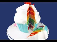 Rainbow Layer Cakes are so hot right now, so we bring you a Rainbow Layer Giant Cupcake! SUBSCRIBE to MyCupcakeAddiction for all things Rainbow and Cupcake! Put that giant cupcake baking dish to use for yet another great Giant Cupcake decorating tutorial - Im determined to get more sues out of these baking pans than just cupcakes so make s...