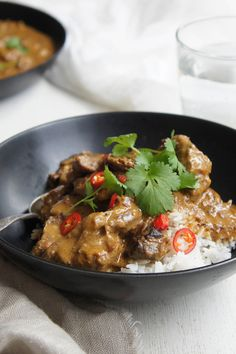 Enjoy this melt in the mouth Slow-Cooked Indian Madras Beef Curry by _missy_.