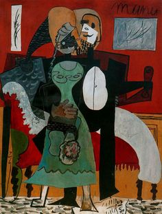 "Pablo Picasso ""Lovers"", 1919"