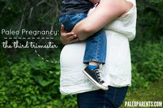 Guest Post: Paleo Pregnancy, The Third Trimester - The final paleo pregnancy post update from Monica, where she shares a bit about her third trimester experience and how she has managed her health throughout the pregnancy. Monica talks about some big issues: CrossFit and Strength Training while pregnant, avoiding paleo perfectionism, dealing with food aversions, loving yourself, ignoring the scale, and listening to your body's natural cues.