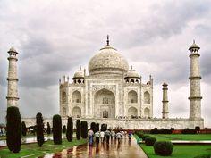 Taj Mahal after the