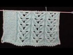 Diy And Crafts, Knitting Patterns, Blanket, Youtube, Fashion, How To Knit, Tricot, Knits, Crocheting