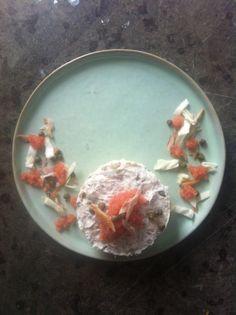 Mackerel, cabbage and lumpfishroe.