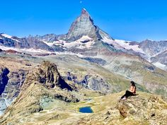 If you were to do just 1 hike in the Zermatt region, make it this Gornergrat hike! The Sun Trail from Gornergrat to Riffelberg descends along the Gornergrat Bahn and takes you through cascading glaciers, stunningly beautiful lakes and lush meadows! The Gornergrat hike is the best to enjoy fantastic views of the mighty Matterhorn & the beautiful lake, Riffelsee. Hiking in Switzerland | Hiking in Zermatt | Best trails in Switzerland | Best things to do in Zermatt |  #myfaultycompass… Stuff To Do, Things To Do, Places In Europe, Zermatt, Stunningly Beautiful, Lakes, Switzerland, Lush, Travel Inspiration