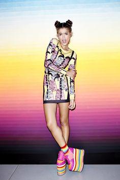 Portrait - Fashion - Platform Shoes -  Photography