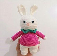 Amigurumi Örgü Oyuncak Modelleri – Amigurumi Tombiş Tavşan Modeli Yapılışı ( Anlatımlı ) – Örgü, Örgü Modelleri, Örgü Örnekleri, Derya Baykal Örgüleri