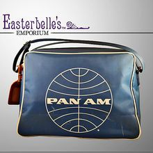 Swanky Pan Am Authentic 1960's Flight Bag -- found on Ruby Lane