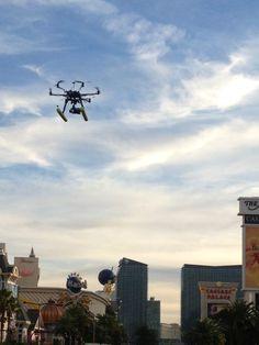 SkyCamUsa remote camera shoot Mandalay Bay Las Vegas.