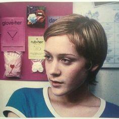 Chloe Sevigny on the set of Kids, 1995.