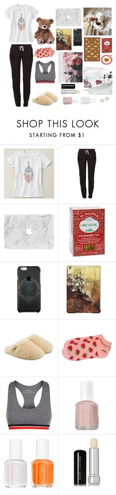 """""""Instant Human"""" by anna-fozo ❤ liked on Polyvore featuring Reebok, Penguin Group, St. Dalfour, Case-Mate, UGG, Forever 21, Tommy Hilfiger, Essie, Marc Jacobs and AK Anne Klein"""