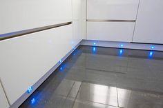 LED kitchen plinth lighting
