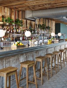 The Bar at Soho House Chicago More