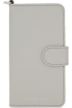 cd90870b2e MICHAEL MICHAEL KORS - Saffiano leather folio iPhone 7 case | Selfridges.com