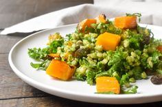 Pumpkin, kale and barley are just a few ingredients in this healthy salad. It is the perfect salad for every season and not only packed with vitamins and antioxidants to boost your health, but easy to make and absolutely delicious!