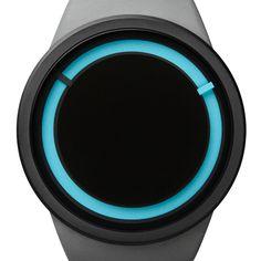 Eclipse (grey) watch by Ziiiro. Available at Dezeen Watch Store: www.dezeenwatchstore.com