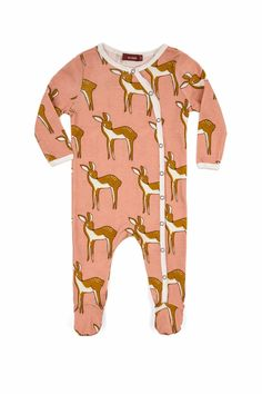 502714fcf Milkbarn Kids Doe Footed Romper - Main Image Daytime Outfit, Clothing  Company, Organic Baby