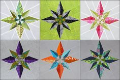 star quilt blocks!l