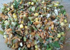Φακοσαλάτα συνταγή από Athina - Cookpad Black Eyed Peas, Sprouts, Vegetables, Food, Vegetable Recipes, Eten, Veggie Food, Brussels Sprouts, Meals