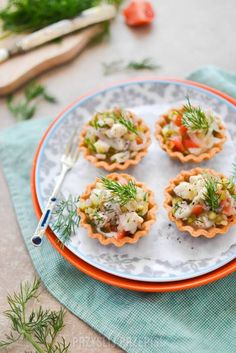 Appetizer Recipes, Appetizers, Fondant Flowers, Party Snacks, New Recipes, Risotto, Tea Party, Food And Drink, Chicken