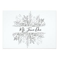 Spring Simplicity Place Cards - invitations custom unique diy personalize occasions